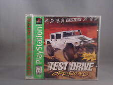 1997 Playstation Test Drive Off Road Greatest Hits
