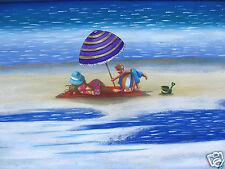 2000s, Abstract, Australia art Beach andy baker Print  Limited canvas coa
