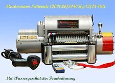24 Volt,elektrische Seilwinde,12000 lb,5454 kg .Winde,CE,Funkfernbedienung,Neu!