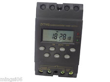 220V Timer Switch Temporizador LCD display,programmable timer switch