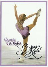 USA GRACIE GOLD  Signed 5x7 Promo 2014 Sochi Olympics