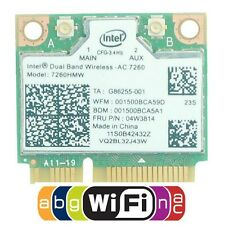 THINKPAD S1 S440 S540 E440 E540 intel 7260AC dual band WiFi+BT 4.0 Wifi Card New