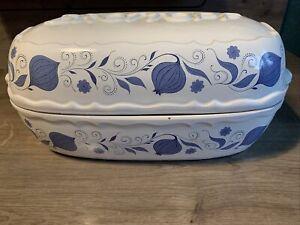 BROTTOPF, Brotkasten Brotbehälter Keramiktopf Ton, Zwiebel Muster