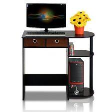 Compact Corner Computer Desk Student Dorm Bedroom Office Desktop Laptop Stand