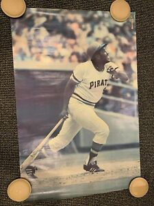 24x36 SPORTS ILLUSTRATED STUDIO ONE 1976 POSTER WILLIE STARGELL PIRATES EX