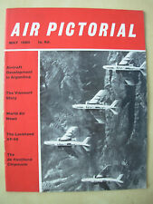 AIR PICTORIAL MAGAZINE MAY 1960 CHINESE RF-84F THUNDERFLASHES