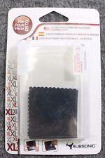 2 Screen Protectors & Microfiber Cleaning Cloth for Nintendo DSiXL US SELLER NEW
