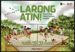 Philippines Cultures Stamps 2020 MNH Larong Atin Traditional Games 2v M/S