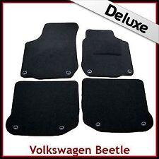 VW NEW BEETLE 1998 - 2011 Occhielli Ovali 1300g DI LUSSO SU MISURA MOQUETTE TAPPETINI AUTO