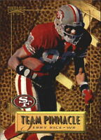 1996 Pinnacle Team Pinnacle #8 Jerry Rice/Carl Pickens