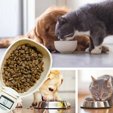 Measuring Spoon Cup of Pet Food Water Scoop Kitchen Scale Spoon Portable NEW UK