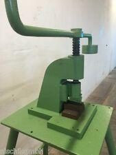 Spindelpresse Probierpresse Werkstattpresse Stempelpresse Stanze Presse 90° 10cm