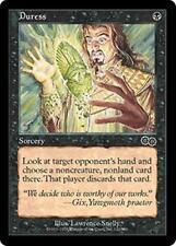DURESS Urza's Saga MTG Black Sorcery Com