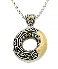 Keith Jack Necklace Celtic Jewelry - Celtic Round Pendant