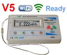 GQ GMC-320 PlusV5 WiFi  Geiger Counter Nuclear RadiationDetector Gamma BetaX-ray
