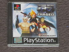 Ehrgeiz God Bless The Ring PS1 PSX Sony Playstation Complete FAST POST PAL RARE
