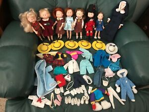 "Eden Madeline Dolls & huge lot 8"" Clothes Accessories Shoes Dogs Pepito Nicole +"