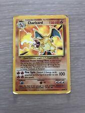 Charizard 4/102 1999 Base Set Pokemon Card