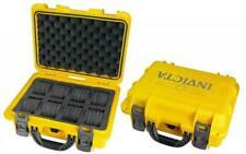 Invicta 8 Slot Waterproof Collectors Dive Case Hard Shell & Foam Inserts.
