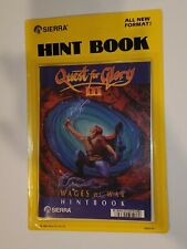 Quest for Glory III 3 Factory Sealed Hint Book 1989 Sierra Wages of War