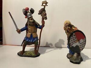 metal toy soldiers Viking. Celtic.