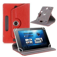 1PCS 360 Universal PU Leather Stand Folio Case Tablet Cover For 7 8 9 10 10.1""