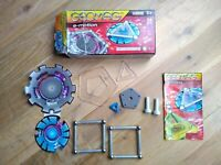 Geomag E-Motion Power Spin Magnetic Construction Set - 24 Pieces, Complete! VGC!