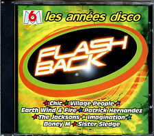 FLASHBACK - LES ANNEES DISCO - CD COMPILATION DISCO FUNK [648]