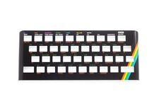 Oberseite Faceplate schwarz aus Metall für Sinclair ZX Spectrum 16/48k Tastatur