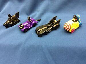 1991 DC Comics Batman McDonald's Happy Meal toys set of 4 Cat woman Penguin