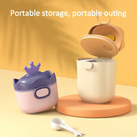 Non-Spill Milk Powder Box Baby Container Portable Food Storage Dispenser My