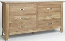 Solid Wood 60cm-80cm 6 Chests of Drawers