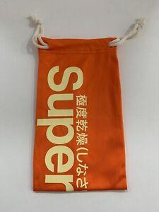 Superdry Sunglasses Soft Case Orange NEW!