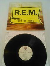 R.E.M - OUT OF TIME LP + INNER!!! ORIGINAL EURO WARNER BROS 7599-26496-1