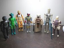 Vintage Star Wars Bounty Hunters 7 figures (I)