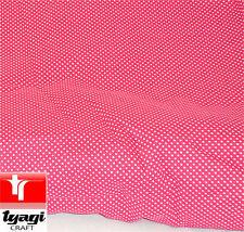 Tessuti e stoffe patchwork Pois per hobby creativi 100% Cotone