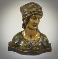 Extremely Rare Fritz Kochendorfer Signed Bust Sculpture Hand Mold Pressed