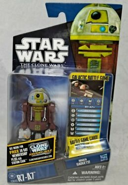 STAR WARS The Clone Wars R7A7 CW43 with Hidden Gadgets NEW MINT MOC RARE