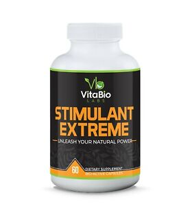 High Strength Energy & Focus Boosting Supplement Reduce Fatigue by Vitabiolabs