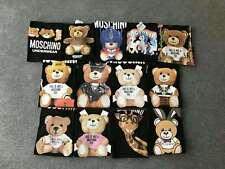 Multi-color NEW MEN'S WOMEN Moschino Teddy bear Top Tee SHORT SLEEVE T-SHIRT