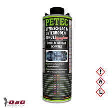 PETEC Steinschlag- & Unterbodenschutz Kautschukbasis schwarz 1 Liter