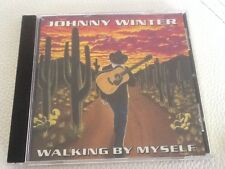 Walking by Myself by Johnny Winter 10 Tracks CD Relix 1992 Rare OOP Free Post
