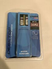 NEW! Kingston 2GB 2x1GB PC2-6400 DDR2 Non-ECC Desktop Memory RAM KVR800D2K2/2GR