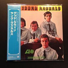 The Young Rascals S/T (CD, 2012, Mini-LP, LTD, OOP, Warner Japan)