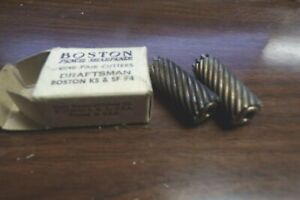 Vintage Boston Pencil Sharpener Cutters Model KS Draftsman Self Feeder #4 NEW