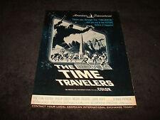THE TIME TRAVELERS 1964 Oscar ad Preston Foster as Dr. Erik von Steiner