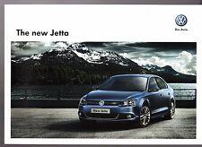 Volkswagen Jetta 2011-12 UK Market Sales Brochure S SE Sport