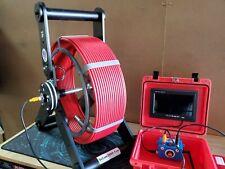 150FT Sewer Camera  Selfleveling Built-In 512hz Transmitter - Pipe Inspection