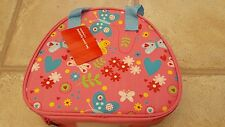 Brand New Girls Sainsbury Butterfly School Lunch Bag