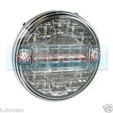 12v/24v LED Slim Slimline Flush Fit POSTERIORE ROUND HAMBURGER Reverse Lampada Luce